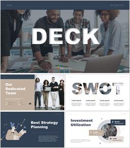 Best Strategy Pitch Deck powerpoint presentation download_13 slides