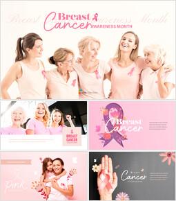 Breast Cancer Awareness Month Business Presentations_50 slides