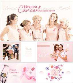 Breast Cancer Awareness Month Keynote Examples_50 slides