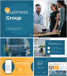 ビジネスグループへの投資 パワーポイントのテンプレート_13 slides