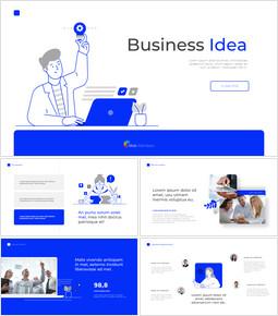 Business Idea Pitch Deck animation Presentation_13 slides