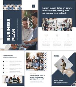 Geschäftsplan vertikal Vorlage Powerpoint_23 slides