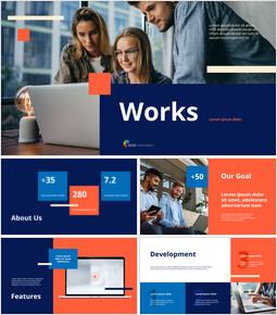 비즈니스 작품 비즈니스 프리젠테이션_13 slides