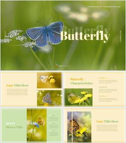 Papillon Idées de conception PowerPoint_35 slides