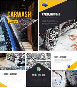Autowäsche Bestes PPT-Design_25 slides