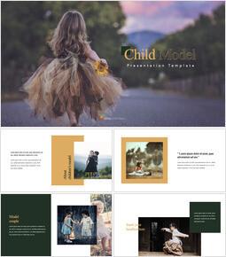 Child Model keynote template_35 slides