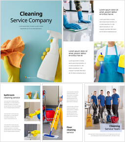 Cleaning Service Company PowerPoint Slides_25 slides
