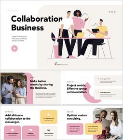 コラボレーションビジネスサービス キーノートの例_13 slides