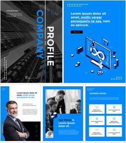 Company Profile Report Business Presentation PPT_26 slides