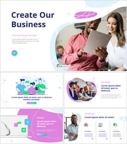 ビジネスデッキを作成する ビジネス事業ピピチ_13 slides