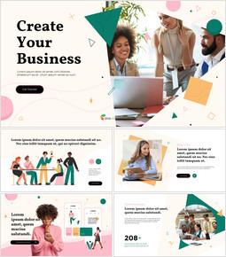 ビジネスPPTアニメーションプレゼンテーションを作成する_13 slides