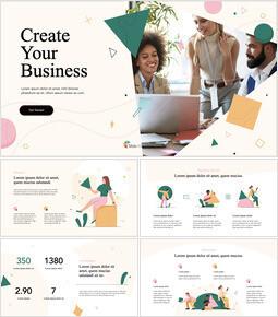 Crea il tuo business slideshare PPT_13 slides
