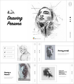 Drawing Persona Creative Keynote_35 slides