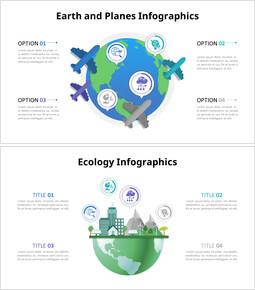 Diagramma infografico della terra_8 slides