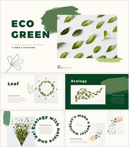 ECO Green Presentation Google Slides Templates_40 slides