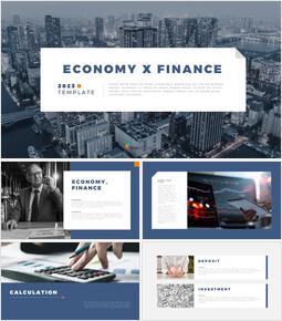Economy X Finance google slides template_50 slides