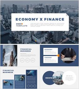 Wirtschaft X Finanzen Vorschlag PowerPoint-Beispiel_50 slides