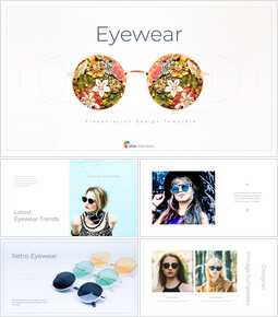 Eyewear Google Presentation Templates_35 slides