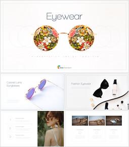 안경 템플릿 디자인_35 slides