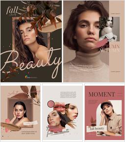 Fall Beauty Theme Business Presentation PPT_23 slides