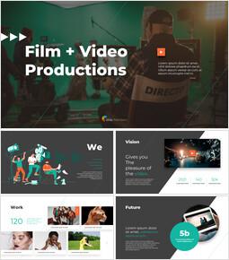 映画&ビデオプロダクション ビジネス事業PPTダウンロード_14 slides
