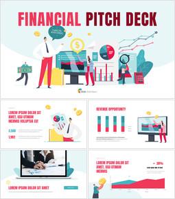 Financial Pitch Deck Presentation Animated Slides in PowerPoint_13 slides