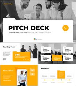 Folder Object Pitch Deck Background PowerPoint_13 slides