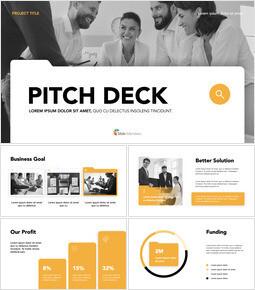 Folder Object Pitch Deck Keynote Templates for Creatives_13 slides