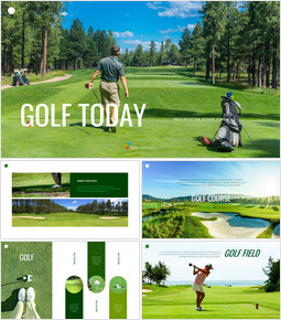 Golf Today Creative Google Slides_35 slides