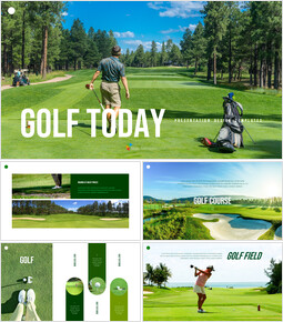 Golf Today PowerPoint Templates for Presentation_35 slides