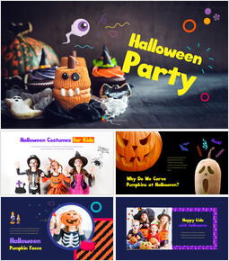 Halloween Party power point powerpoint_35 slides