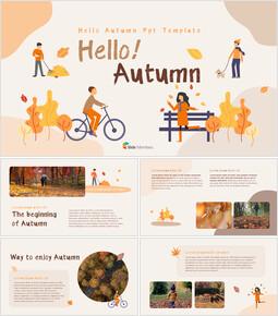 Ciao autunno Presentazione Powerpoint_35 slides