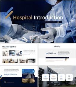 Introduzione all\'ospedale Modello di presentazione della squadra_50 slides
