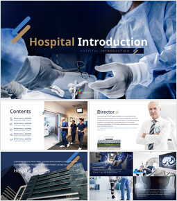 hospital introduction Themes for PowerPoint_50 slides