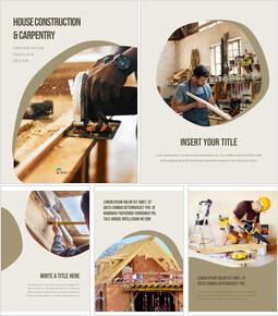 House Construction & Carpentry team presentation template_25 slides