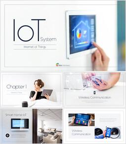 IoT(モノのインターネット) ビジネス事業PPTダウンロード_50 slides