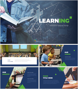 Learning company profile template design_35 slides