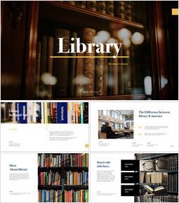 Library keynote template_35 slides