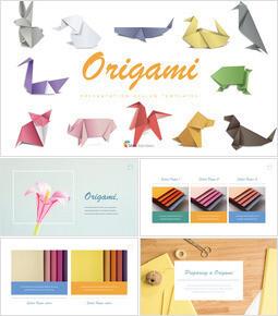 Crea origami Tema Keynote Design_35 slides