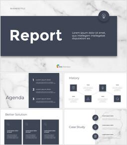 Marble Design Simple Business google slides template_34 slides