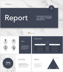 Marble Design Simple Business PowerPoint to Keynote_34 slides