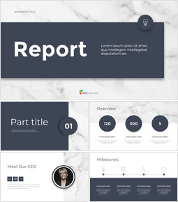 Marble Design Simple Business Themes for PowerPoint_34 slides
