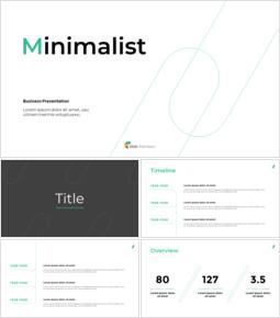 Minimalist Design Business company profile template design_39 slides