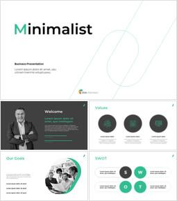 Minimalist Design Business PPT Backgrounds_39 slides