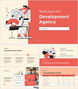 Mobile App & Web Development Agency building a pitch deck_15 slides