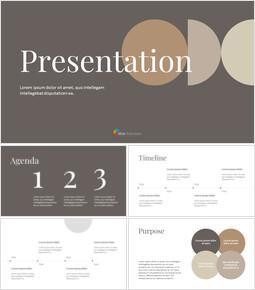 Modern Simple Business google slides template_41 slides