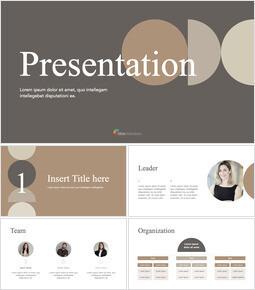 Modern Simple Business Keynote for PC_41 slides