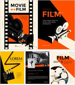 Movie & Film Theme Slide PPT_23 slides