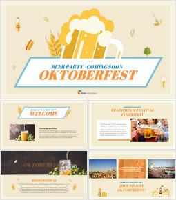 Oktoberfest Presentation Templates Design_35 slides