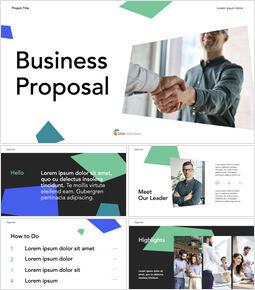 私たちのビジネス提案 PPTX キーノート_14 slides